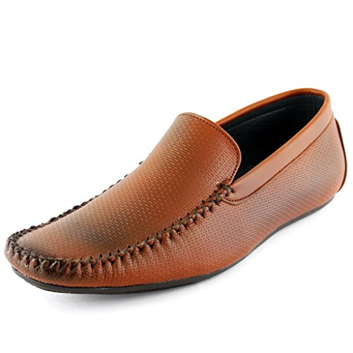 Faces Genevieve Chris Tan Mens Casual Slip On Loafers