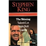 copertina libro Stephen King: The Shining Salems Lot Night Shift Carrie by King Stephen (1988) Hardcover