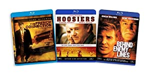 The Gene Hackman Blu-ray Collection (French Connection / Hoosiers / Behind Enemy Lines)