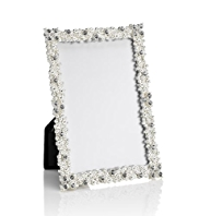 "Cluster Gem & Diamanté Photo Frame 10 x 15cm (4 x 6"")"