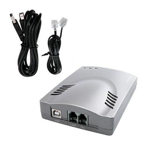 USB VOIP Phone Adapter, Support SIP, Skype