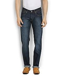 Thisrupt Mens Cotton Slim Fit Jeans (Size-36)