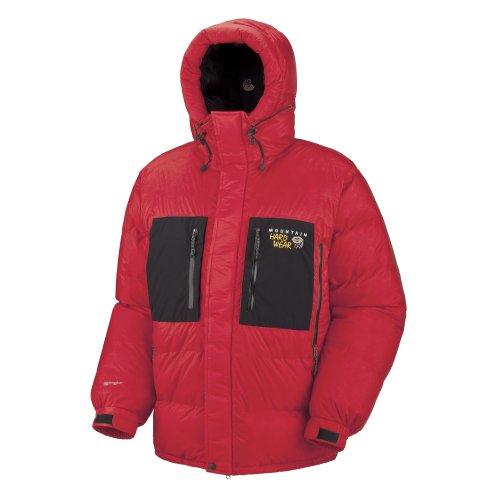 Mountain Hardwear duvet jacket Men's Absolute Zero Parka red