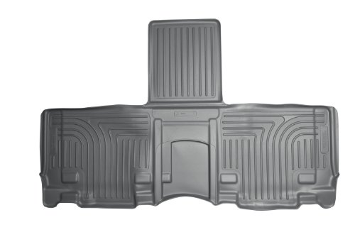 Husky Liners Custom Fit Weatherbeater Second Seat Floor Liner Set For Select Toyota Sienna Models (Grey) front-339283