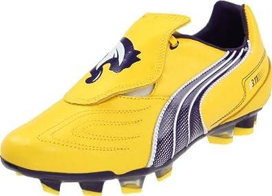 Puma Men's V3.11 I FG Soccer Cleat,Vibrant Yellow/Parachute Purple,8 D US
