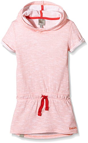 Bench AMUSED-Vestito  Bambina    Orange (Fusion Coral PK143) 10 anni