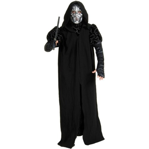 Deluxe Death Eater Costume - Standard - Chest Size 40-44