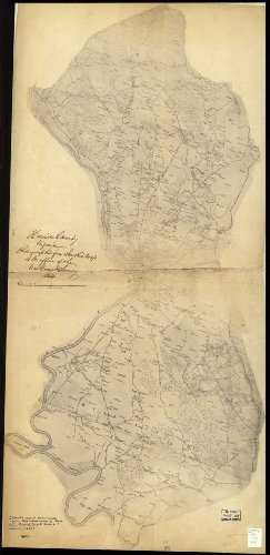 Henrico County, Virginia / James Keily. (Civil War Map Reprint measured in inches 18 x 36)