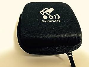 (サウンドピーツ)Soundpeats ワイヤレス スポーツ ヘッドセット QY7 black/green [並行輸入品]