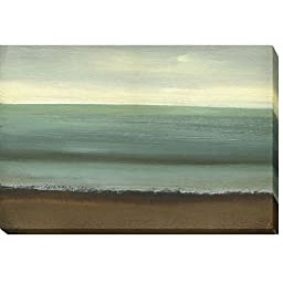 Calm Sea by Caroline Gold Custom Gallery-Wrapped Canvas Giclee Art (Ready to Hang)