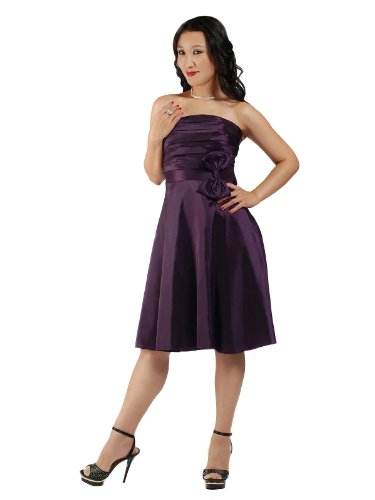 CityGirl – 3435 Cocktailkleid Ballkleid in Lila Gr. 34-42
