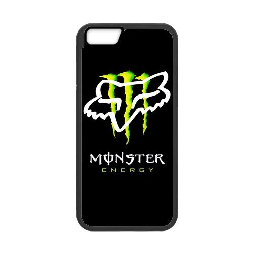Personalize Monster Energy Fox Logo Case for iPhone 6 (Iphone 6 Case Monster Energy compare prices)