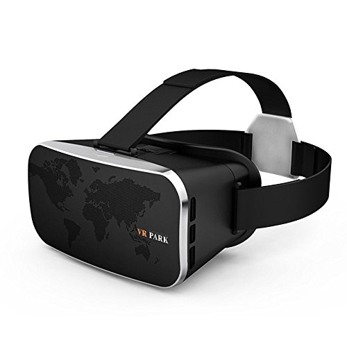 Waker VR Box Headset Virtual Reality Blue Coating Film 3D Glasses for 4.0-6.0 inch Screen Smartphones iPhone6/ 6Plus 7/ 7Plus, Samsung Galaxy series S7 Edge /S7 S6 Edge/ S6 Note 5 4 3