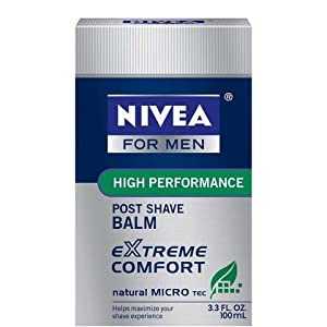 Nivea Extreme Comfort After Shave Balm for Men - 3.3 Oz