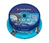 Verbatim 43710 - Cd -R 700Mb 52X Spindle 25 Imprimible Photo Vinilo