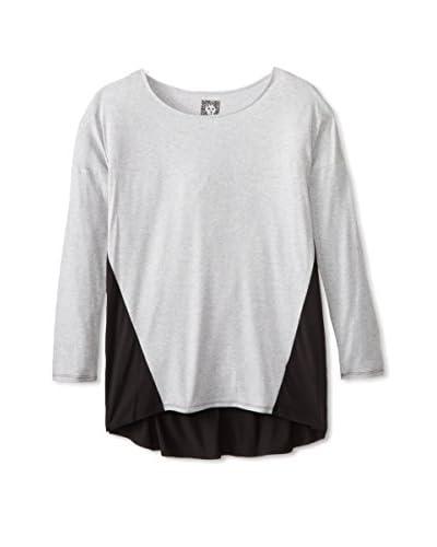 Anne Klein Women's Pajama Top  [Grey Heather]