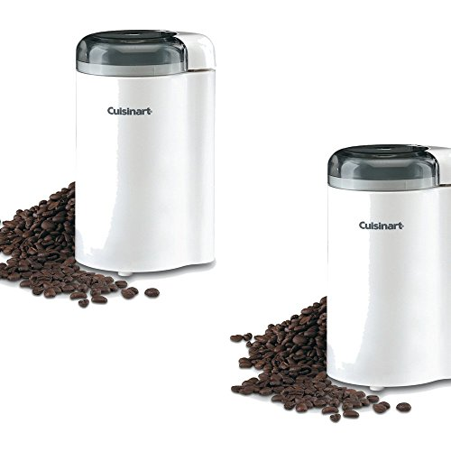 Cuisinart2.5-oz White Coffee and Spice Grinder - Cuisinart Model - DCG-20N - Set of 2 Gift Bundle