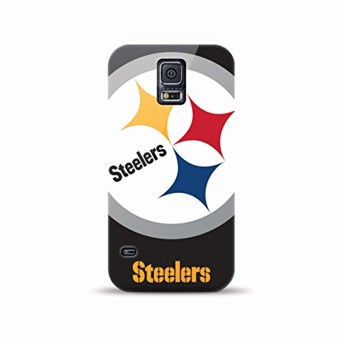 Mizco Sports Case Samsung Galaxy S5 Licensed NFL Pittsburg Steelers TPU Gel Case by Mizco Sports