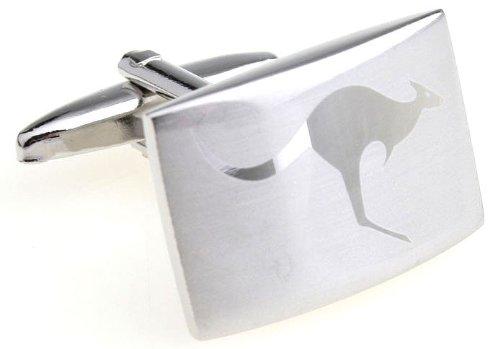 MFYS Men's Jewelry Steel the Kangaroo Novelty