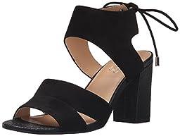 Franco Sarto Women\'s L-Gem Dress Sandal, Black, 7.5 M US