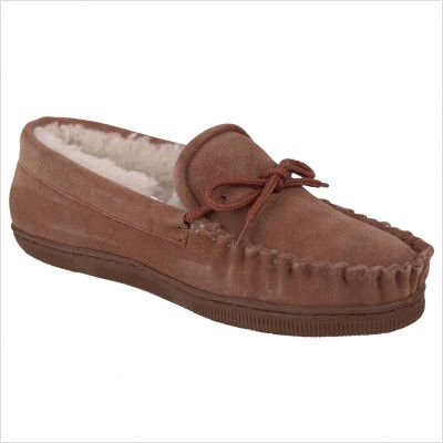 Cheap Women's Moc Moccasin Slipper in Chocolate Color: Chocolate, Size: 5 (401W-CHOC-050)