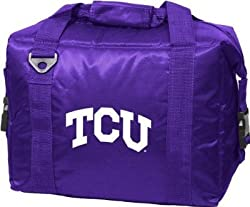 Texas Christian Horned Frogs Rolling Cooler - NCAA College Athletics