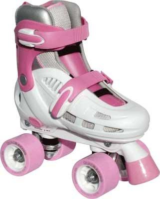 SFR Storm Roller Skates - White/Pink