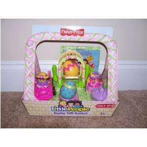 Fisher Price Little People Limited Edition Spring Basket Set With Free Dvd Video Discovery Animals Volume 3