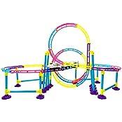 Power Trc High Speed Roller Coaster Bullet Train Toy Building Set (116 Pcs)