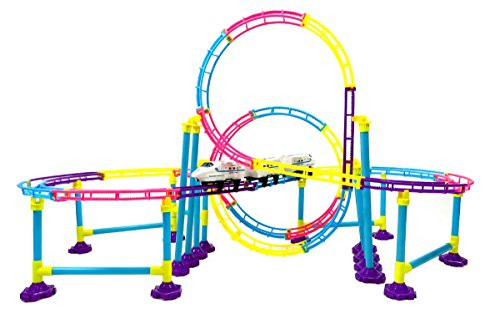 PowerTRC® High Speed Roller Coaster Bullet Train Toy Building Set (116 Pcs) (Toy Bullet Train compare prices)