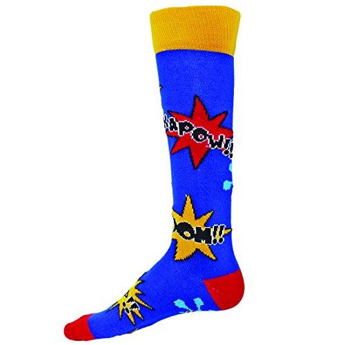 Red Lion Comics Knee Sock ( Royal - Medium )