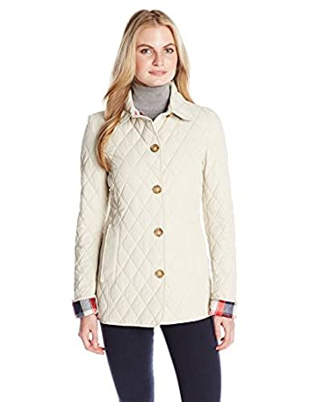 Tommy Hilfiger Womenu0026#39;s Classic Quilted Jacket At Amazon Womenu0026#39;s Coats Shop