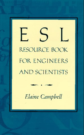 ESL Resource Book for Engineers and Scientists