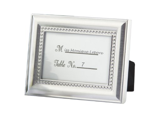 Beautifully Beaded Photo Frame/Placeholder As seen in the hit movie 27 Dresses
