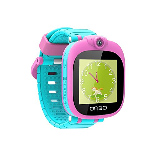 Orbo Kids Smartwatch with Rotating Camera, Bluetooth Phone Pairing and Games - Pink (Time Timer Watch compare prices)