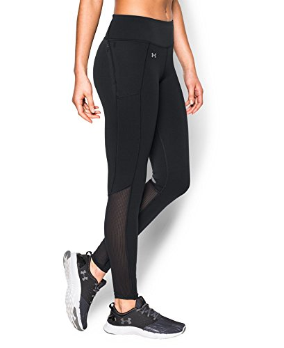Under Armour Women's Fly-By Run Legging, Black (001), Small