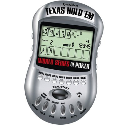 Electronic WORLD SERIES OF POKER TEXAS HOLD 'EM - Buy Electronic WORLD SERIES OF POKER TEXAS HOLD 'EM - Purchase Electronic WORLD SERIES OF POKER TEXAS HOLD 'EM (Excalibur, Toys & Games,Categories,Games,Card Games,Card Games)