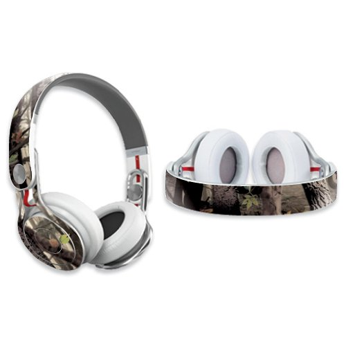 Mightyskins Protective Vinyl Skin Decal Cover For Dr. Dre Beats Mixr Headphones Sticker Skins Tree Camo