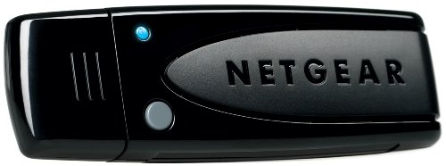 Netgear WNDA3100-200PES Adattatore USB Wireless per PC, N600 Mbps, DualBand, Smart MIMO, Nero