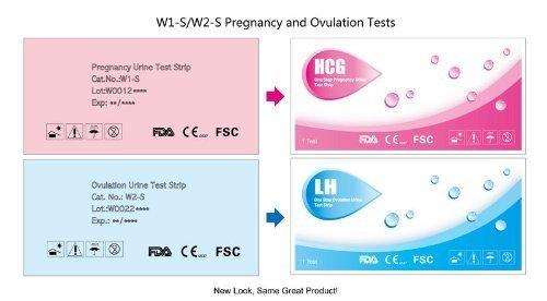 pack Combo 40 (LH) Les tests d'ovulation et 10