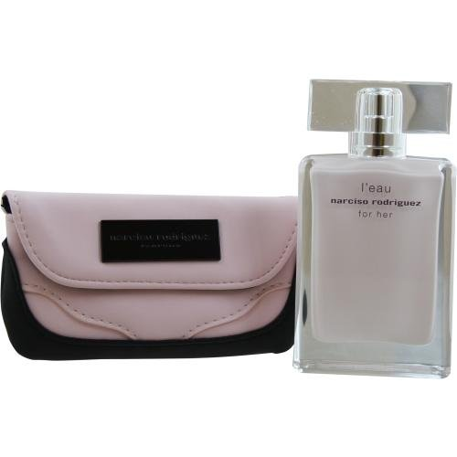 Narciso Rodriguez For Her L'eau Eau De Toilette Spray 50ml 2014 Set 2 Parti