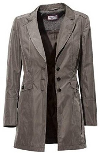 Longblazer Blazer von Ashley Brooke - Taupe Gr. 38
