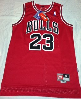 Michael Jordan Chicago Bulls NBA Jersey Various Sizes Small , Medium , Large or Xl (RED)