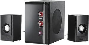 Auvisio - Enceinte dédiée MP3 - Auvisio MSX-340 - Système audio 2.1 USB + 2 haut-parleurs satellites