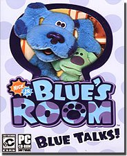 New THQ Blue's Room Blue Talks Play Puzzles With Polka Dots Act Out Stories With Dress Up Chest