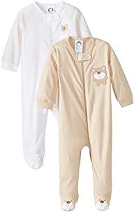Gerber Unisex-Baby Newborn 2 Pack Zip…