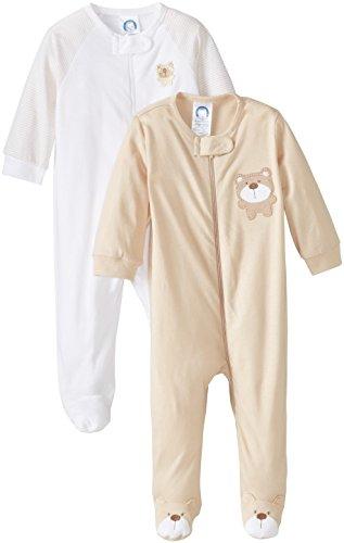gerber-unisex-baby-2-pack-zip-front-sleep-n-play-bear-brown-0-3-months