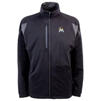 MLB Mens Miami Marlins Highland Jacket by Antigua