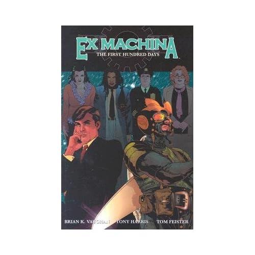 ex machina comic covers
