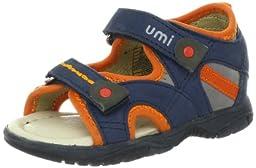 umi Benet Sandal (Toddler/Little Kid),Navy Multi,23 EU(7 M US Toddler)